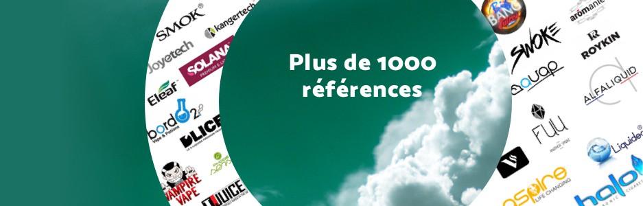 Plus de 1000 références